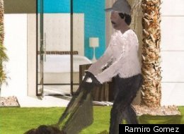 Gardeners, Housekeepers and The Hollywood Hills:  A Glimpse into The Public Art Of L.A. Artist Ramiro Gomez