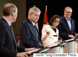 Candidates Invoke Layton, Not Mulcair, During 1st NDP Debate
