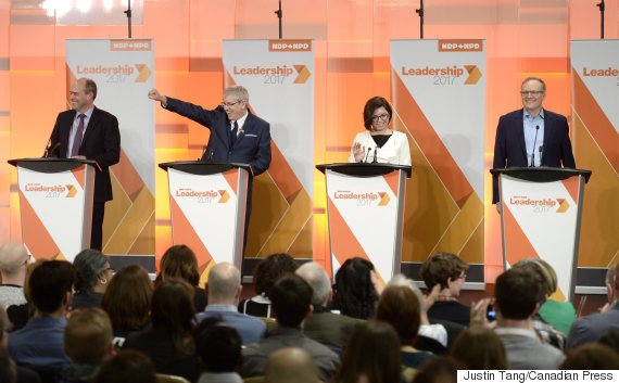 ndp leadership debate