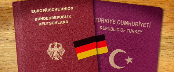 GERMANY TWO PASSPORTS