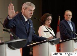 NDP Leadership Hopefuls Debate Party's Future.. And Beer