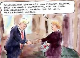 Das hat Merkel Trump zu sagen