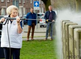 Cette photo d'une princesse des Pays-Bas a bien fait rire les internautes
