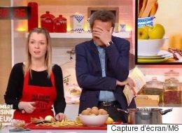 Cette candidate d'une émission de cuisine découvre à quoi ressemble... une patate