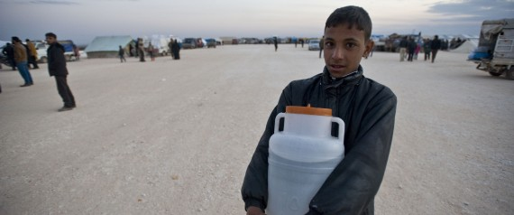 WATER CRISIS IN DAMASCUS