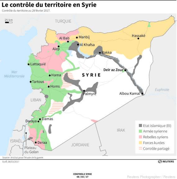 contrôle syrie février