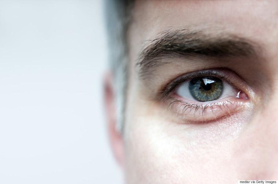 blink eyes