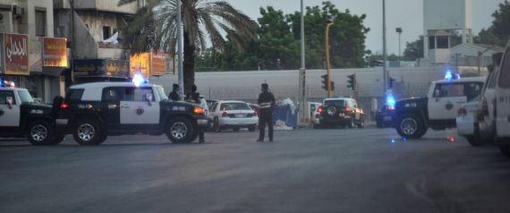 SAUDI POLICE FORCES