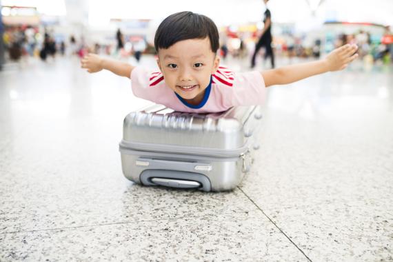 tiny luggage
