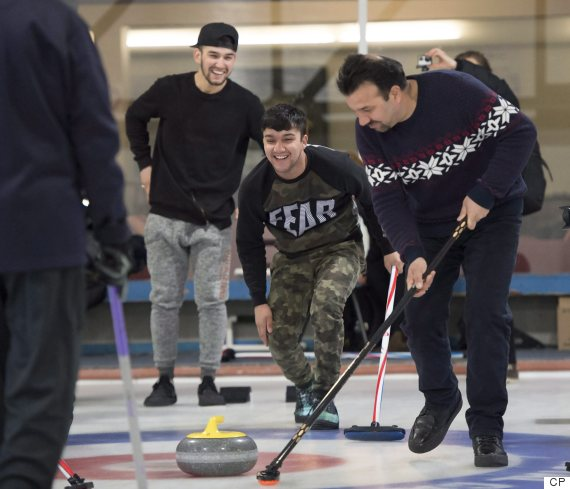 toronto curling refugees