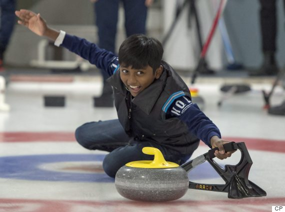 toronto refugees curling