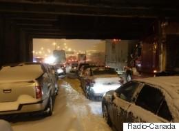 Trois récits du cauchemar blanc sur l'autoroute 13 à Montréal