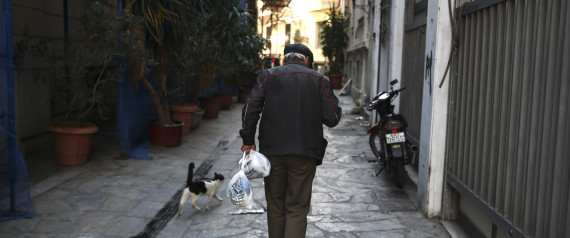 ECONOMY GREECE OLD MAN