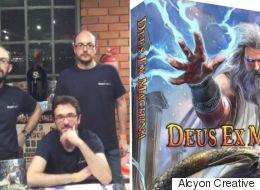 Deus Ex Machina: Πώς θα γίνετε αρχαίος Έλληνας θεός (με ένα επιτραπέζιο ελληνικής εταιρείας από τη Δράμα)