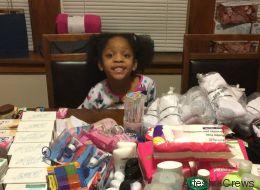 Sechsjährige verzichtet auf ihre Geburtstagsparty und beschenkt stattdessen Obdachlose