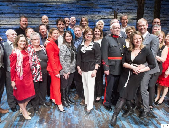 trudeau come from away