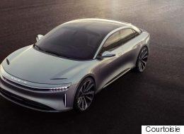 Lucid Air : la future rivale de Tesla offerte à 60 000 $ US