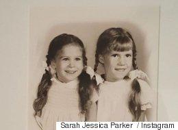 Reconnaissez-vous cette adorable petite fille avec sa grande sœur?
