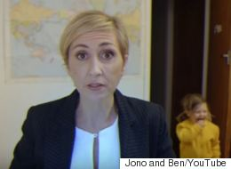 BBC Interview Spoof Video Swaps A Mom In For Robert Kelly
