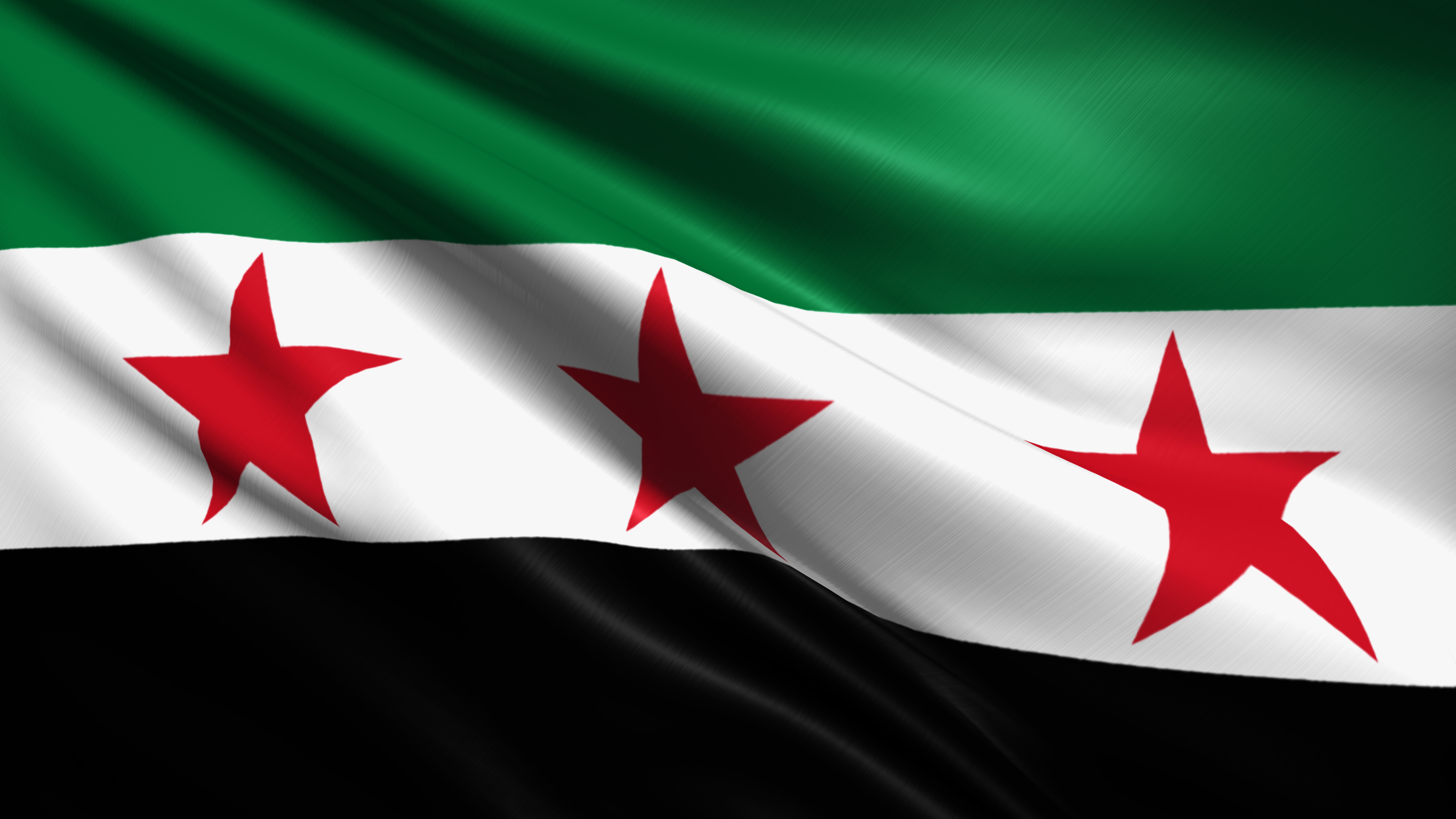 green flag syria