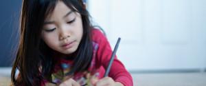 Kid Writing Letter