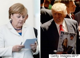 Merkel Delves Deep Into Trump's Playboy Interview Ahead Of Visit