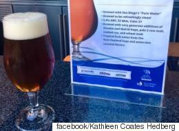어느 양조장이 '하수처리수'로 만든 맥주를 공개했다