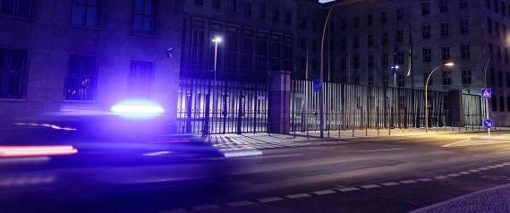 BERLIN FINANCE MINISTRY POLICE