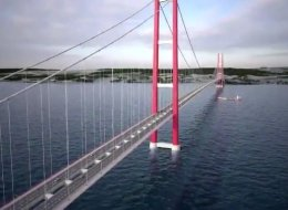 تركيا تبدأ تشييد أطول جسر معلق في العالم.. سٌمي باسم معركة في الحرب العالمية الأولى.. فيديو