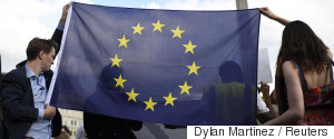 EUROPE YOUNG PEOPLE FLAG