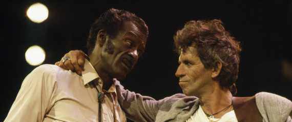 KEITH RICHARDS CHUCK BERRY