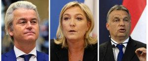 Wilders Le Pen Orban