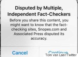 Voici ce qui arrive désormais si vous partagez une fausse nouvelle sur Facebook