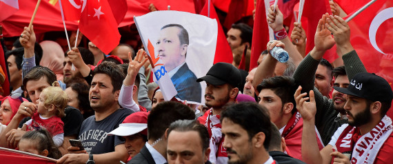 ERDOGAN DEMONSTRATION