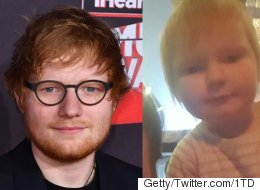 2-Year-Old Baby 'Looks More Like Ed Sheeran Than Ed Sheeran'