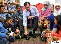 Voici les souliers neufs du ministre fédéral des Finances