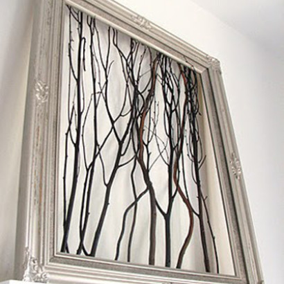 Branch Wall Art craft of the day: branch wall art | huffpost