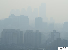 오늘 서울의 공기질은 전세계 주요도시 중 2위였다