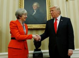 رئيسة وزراء بريطانيا: ترامب تصرف كـ