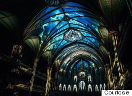 «Aura»: la Basilique Notre-Dame prend vie