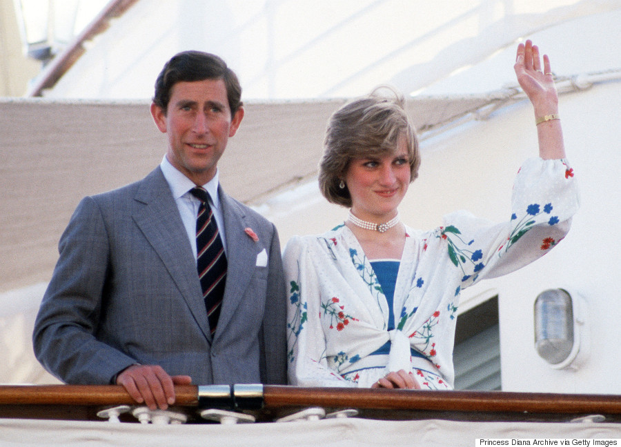princess diana prince charles honeymoon