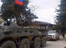 بالصور.. جنود روس في عفرين بعد إعلان وحدات حماية الشعب الكردية قرار موسكو إنشاء قاعدة فيها
