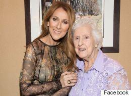 Céline Dion partage une photo de sa famille, réunie pour les 90 ans de sa mère