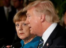 Trump ist nicht der Erste, der Merkel den Handschlag verweigert
