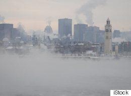 Alerte de smog au Québec
