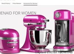 Les appareils roses de KitchenAid jugés sexistes
