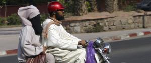 Veiled Woman Morocco