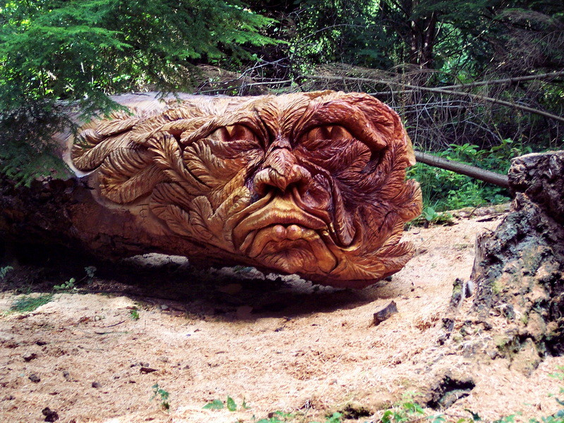 Tommy craggs creates incredible sculptures with his