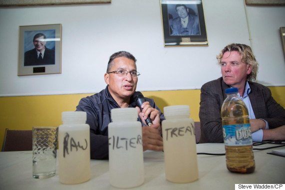 safe drinking water canada first nation