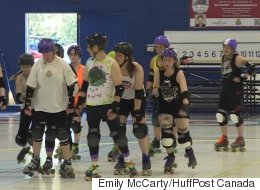 Women's Roller Derby Whizzes Past Other Sports In Gender Inclusion